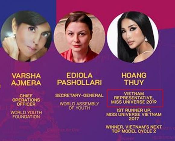 Á hậu Hoàng Thùy,  thi Miss Universe 2019