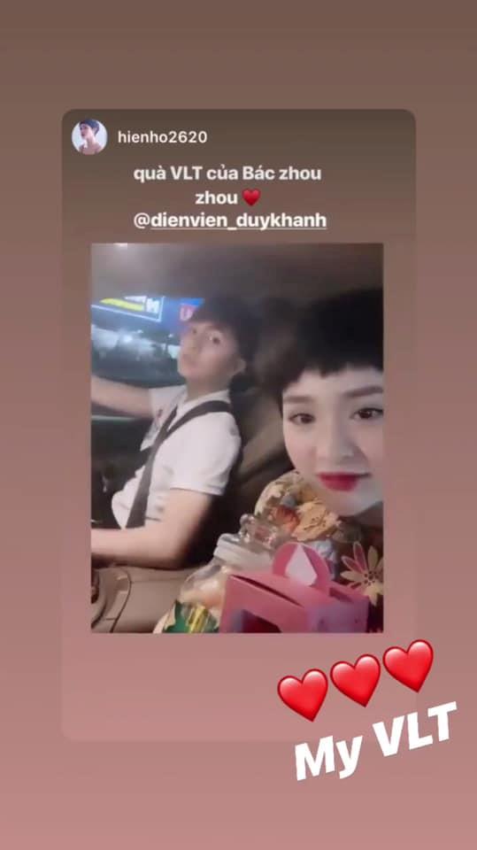 Duy Khánh, Hiền Hồ, sao Việt