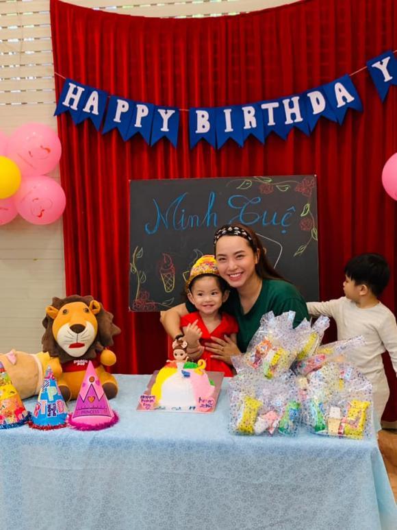 Hải Băng, con gái Hải Băng, sinh nhật con gái Hải Băng