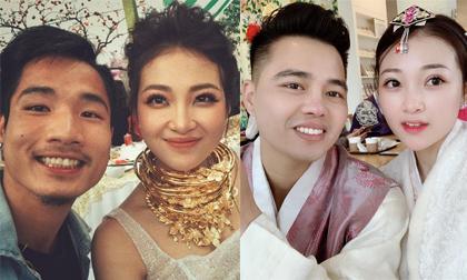 cô dâu nam định, cô dâu đeo vàng trĩu cổ, giới trẻ
