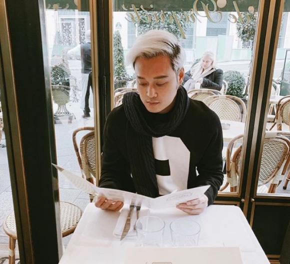 Hết bạch kim, 'Hoàng tử sơn ca' Quang Vinh lại chuyển sang màu tóc chất chơi này
