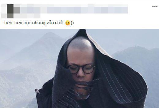 Tiên Tiên, Tiên Tiên cạo trọc, ca sĩ Tiên Tiên