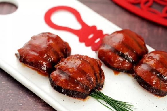 cách làm món cà tím nhồi thịt thơm ngon, món ngon mỗi ngày, món ngon chế biến từ cà tím