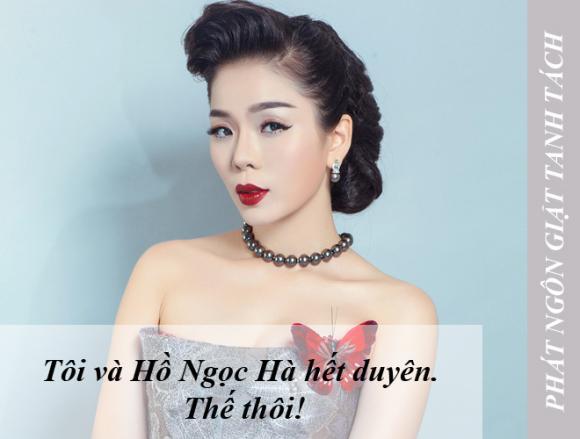 phát ngôn sao Việt tuần qua,Lệ Quyên,Nam Thư,Mạc Văn Khoa,Giang Còi,Hoàng Yến Chibi
