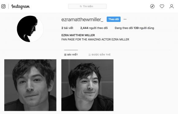 Ezra Miller, hồ ngọc hà, sao việt