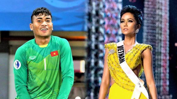Hoa hậu h'hen niê,hoa hậu hoàn vũ việt nam 2017,em trai h'hen niê lọt danh sách u23 quốc gia