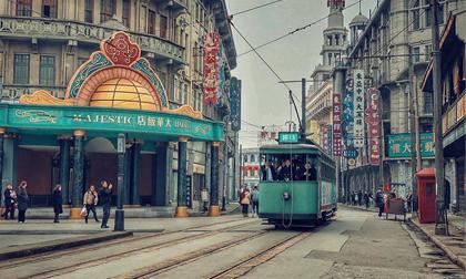 Chương Tử Di, Thư Kỳ, Thang Duy, thảm đỏ LHP quốc tế Thượng Hải