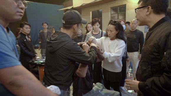 Châu Nhuận Phát,Châu Nhuận Phát gặp tai nạn trên phim trường,sao Hoa ngữ