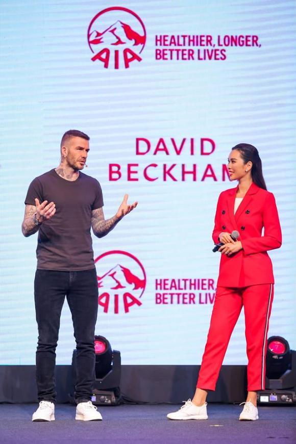 David Beckham, Hà Anh, Công Vinh