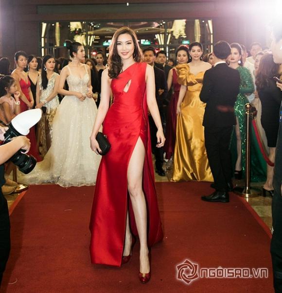 Đêm hội chân dài,thảm đỏ đêm hội chân dài,dàn sao việt