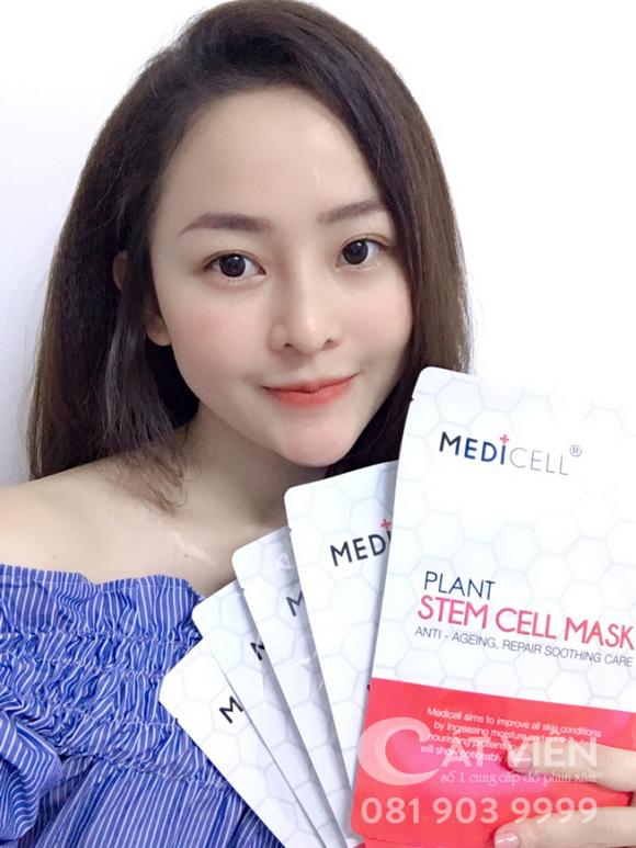 mặt nạ tế bào gốc Plant Stem Cell Mask, Đoàn Hằng, Medicell