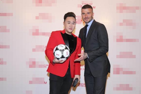 David Beckham, Beckham sang Việt Nam, Trung Quân
