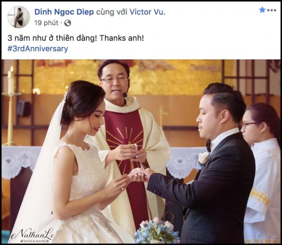 Đinh Ngọc Diệp,Victor Vũ,sao Việt