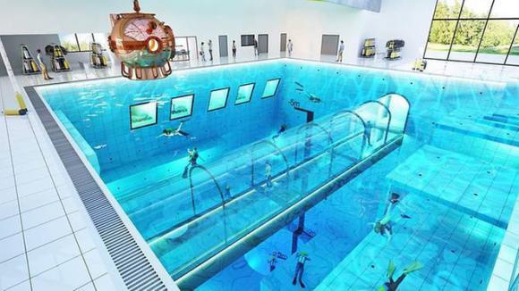 hồ bơi sâu nhất thế giới, Hồ bơi DeepSpot
