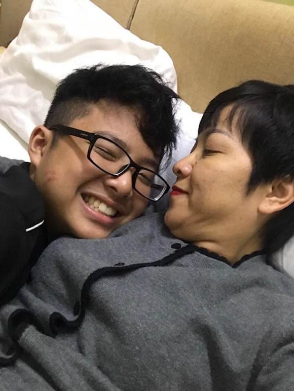 MC Thảo Vân, Công Lý, con trai Thảo Vân