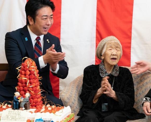 cụ bà Nhật Bản,kỷ lục Guinness thế giới,người cao tuổi nhất thế giới