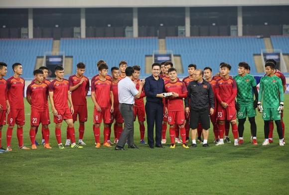 đội tuyển U23 Việt Nam, tuyển U23 Việt Nam, bầu Tam, HLV Park Hang-seo