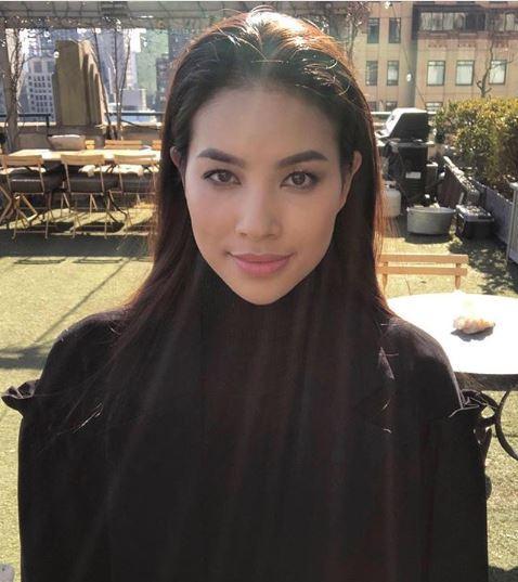 Hoa hậu Phạm Hương, Hoa hậu Phạm Hương gầy, Phạm Hương ở Mỹ