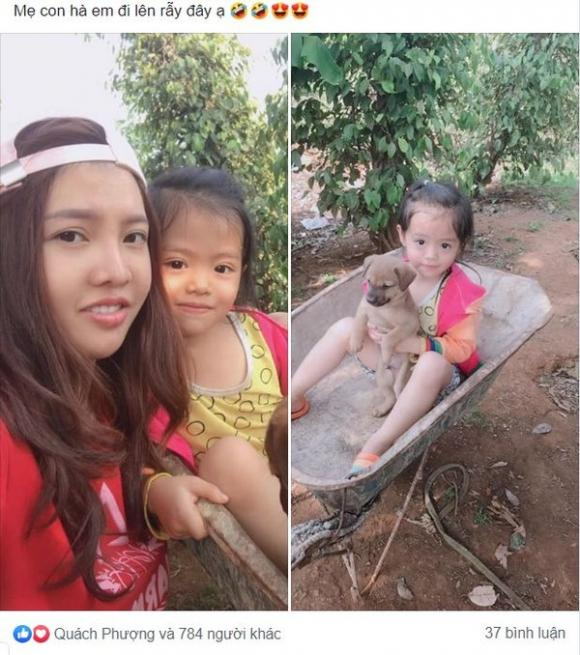 Thị Nở tái sinh, Quách Kim Phượng, Mạng xã hội