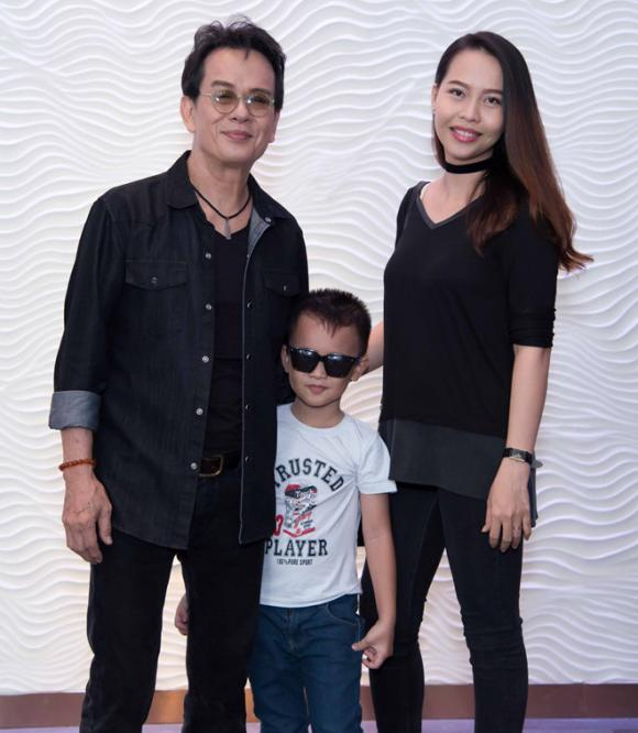 nhạc sĩ Đức Huy, con gái nhạc sĩ Đức Huy, nhạc sĩ Đức Huy và vợ trẻ