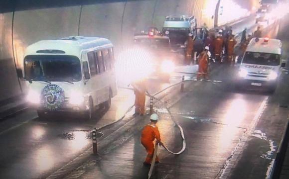 hầm Hải Vân, xe tang, hoả hoạn, tai nạn giao thông
