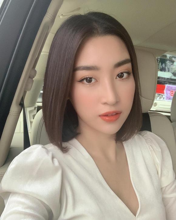 Hoa hậu Đỗ Mỹ Linh,túi hiệu đựng hoa quả của Đỗ Mỹ Linh,sao Việt
