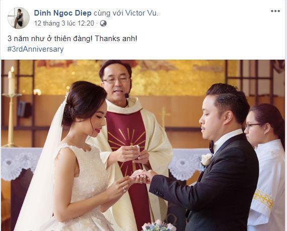 Victor Vũ, Đinh Ngọc Diệp, sao Việt