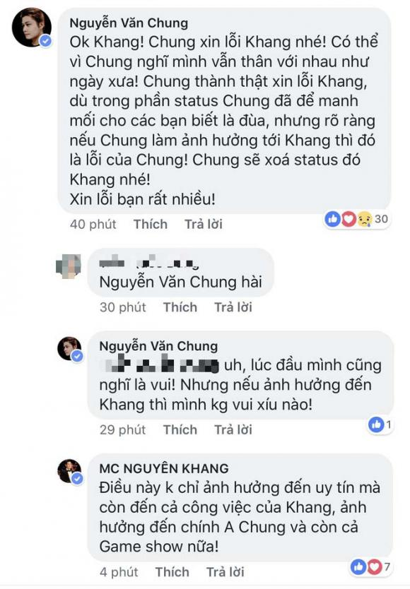 MC Nguyên Khang, nhạc sĩ Nguyễn Văn Chung, Confetti