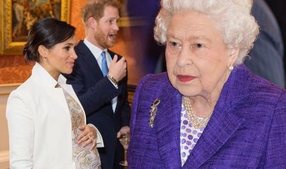 công nương meghan markle, hoàng tử harry, nữ hoàng anh