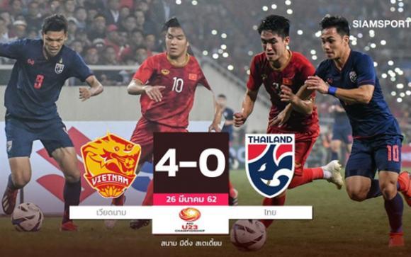 U23 Việt Nam, U23 Thái Lan, HLV Park Hang Seo