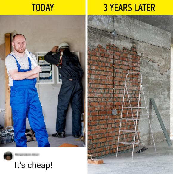 mẹo cải tạo nhà, mẹo khi xây nhà, những lưu ý khi xây nhà