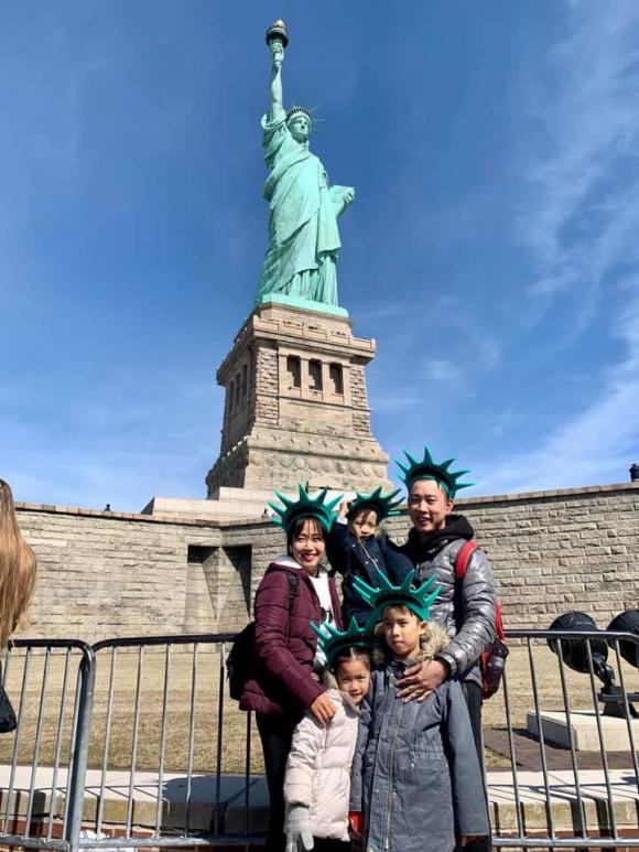 MC Ốc Thanh Vân, Ốc Thanh Vân du lịch, gia đình Ốc Thanh Vân du lịch Mỹ