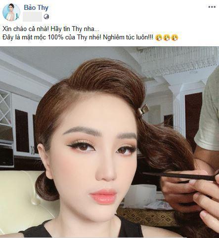 Bảo Thy, Bảo Thy make-up, Bảo Thy mặt mộc