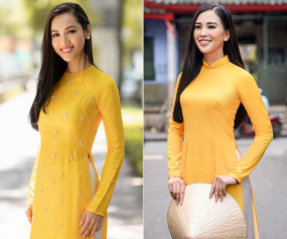 Hoa hậu Tiểu Vy, Á hậu Vũ Hoàng My, sao Việt