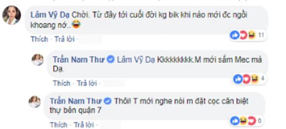 Nam Thư , Lâm Vỹ Dạ, sao Việt