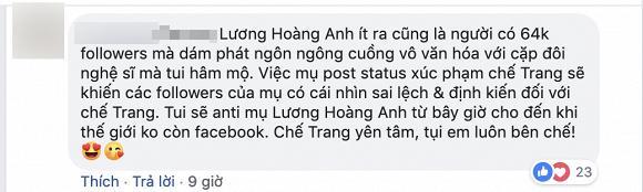 Lương Hoàng Anh,Thu Trang,sao Việt