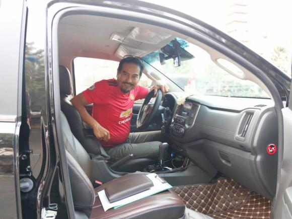 diễn viên Võ Hiệp, xe mới của Võ Hiệp, sao Việt