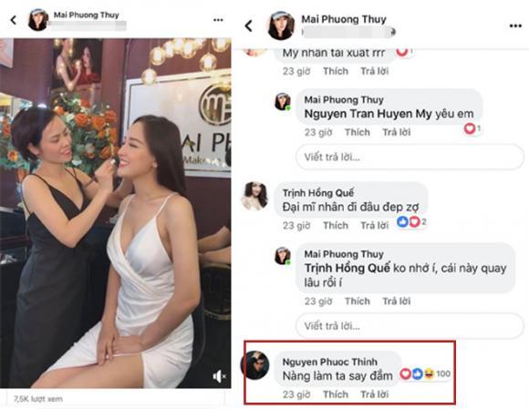 Mai Phương Thúy, Hoa hậu Mai Phương Thúy, Noo Phước Thịnh