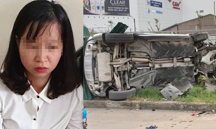 tai nạn giao thông, phụ nữ lái xe, tai nạn giày cao gót, Mai Dịch, Hà Nội