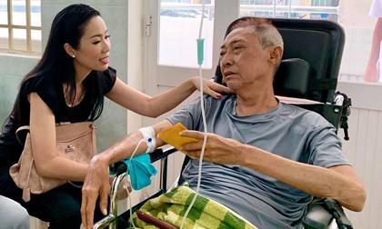 Nghệ sĩ Lê Bình, nghe si le binh, sốt cao hôn mê, sao việt