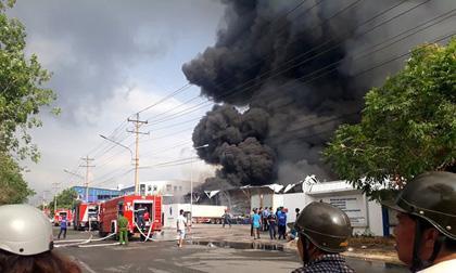 cháy nhà xưởng, cháy lớn ở hà nội, hỏa hoạn