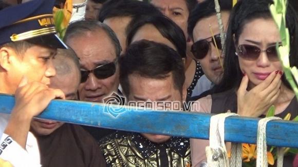 lễ an táng cố nghệ sĩ Anh Vũ, anh vu, an táng, sao việt, nghệ sĩ anh vũ, hồng vân, minh nhí