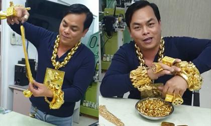 Phúc XO, Người đeo nhiều vàng nhất việt nam, tin pháp luật
