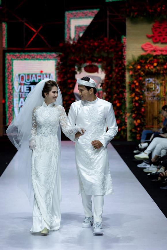 Ngọc Trinh, sao việt, mẫu việt, áo dài cưới