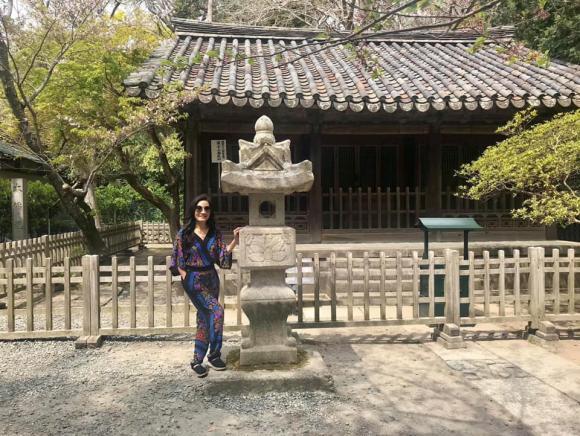 Hồng Vân, Hồng Vân du lịch Nhật Bản, Hồng Đào