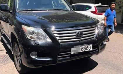 Bình Định xe lexus biển tứ quý 6, lexus tông đám tang, tai nạn giao thông, khởi tố
