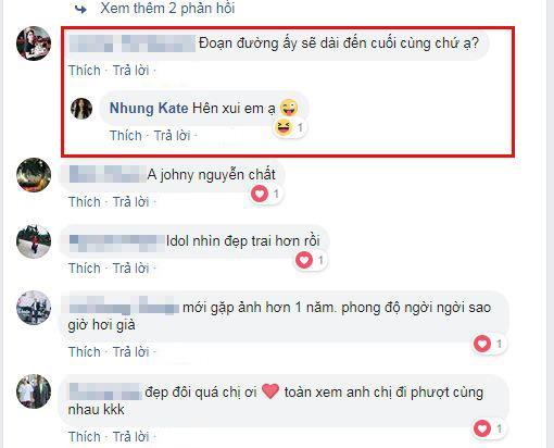 Johnny Trí Nguyễn, Nhung Kate , diễn viên Nhung Kate, sao Việt