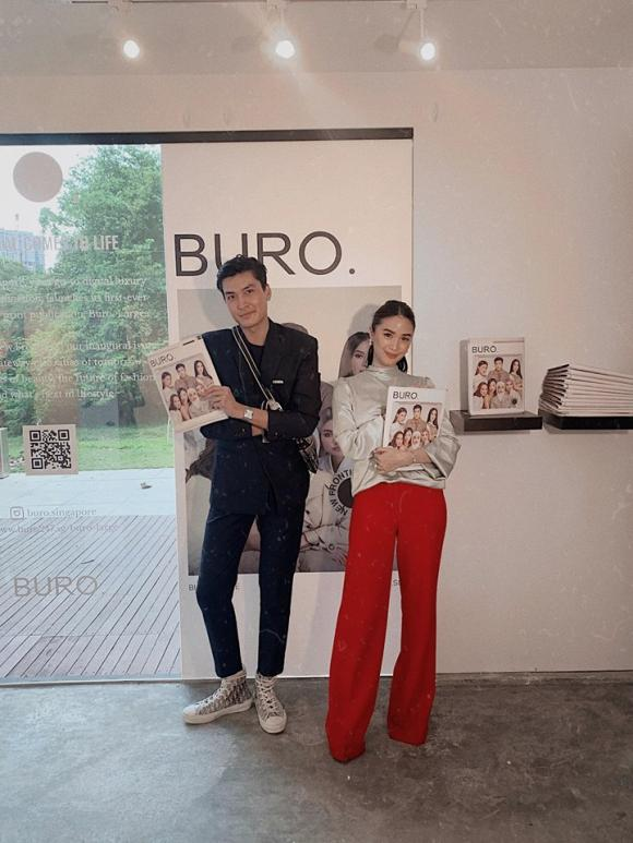 Người mẫu Quang Đại lên bìa tạp chí nổi tiếng của Singapore
