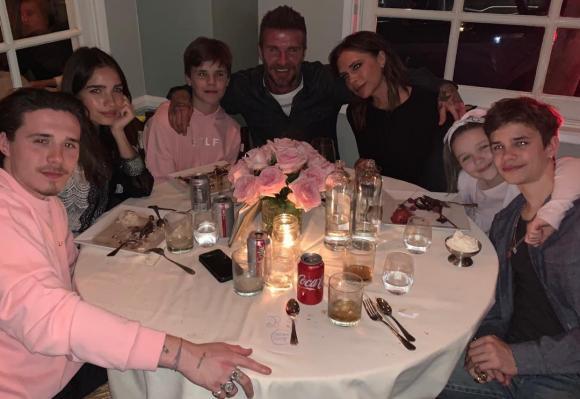 victoria beckham, gia đình david beckham, sao hollywood