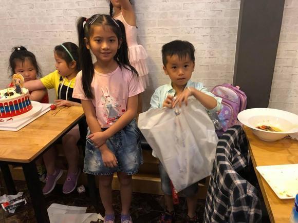 Lâm Vỹ Dạ, Hứa Minh Đạt, sinh nhật con Lâm Vỹ Dạ